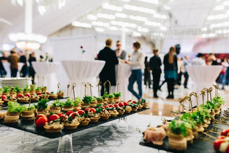 While Corporate Party Catering