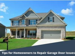 Homeowners to Repair Garage Door Issues