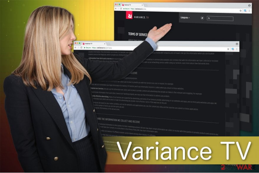 Removing variance TV