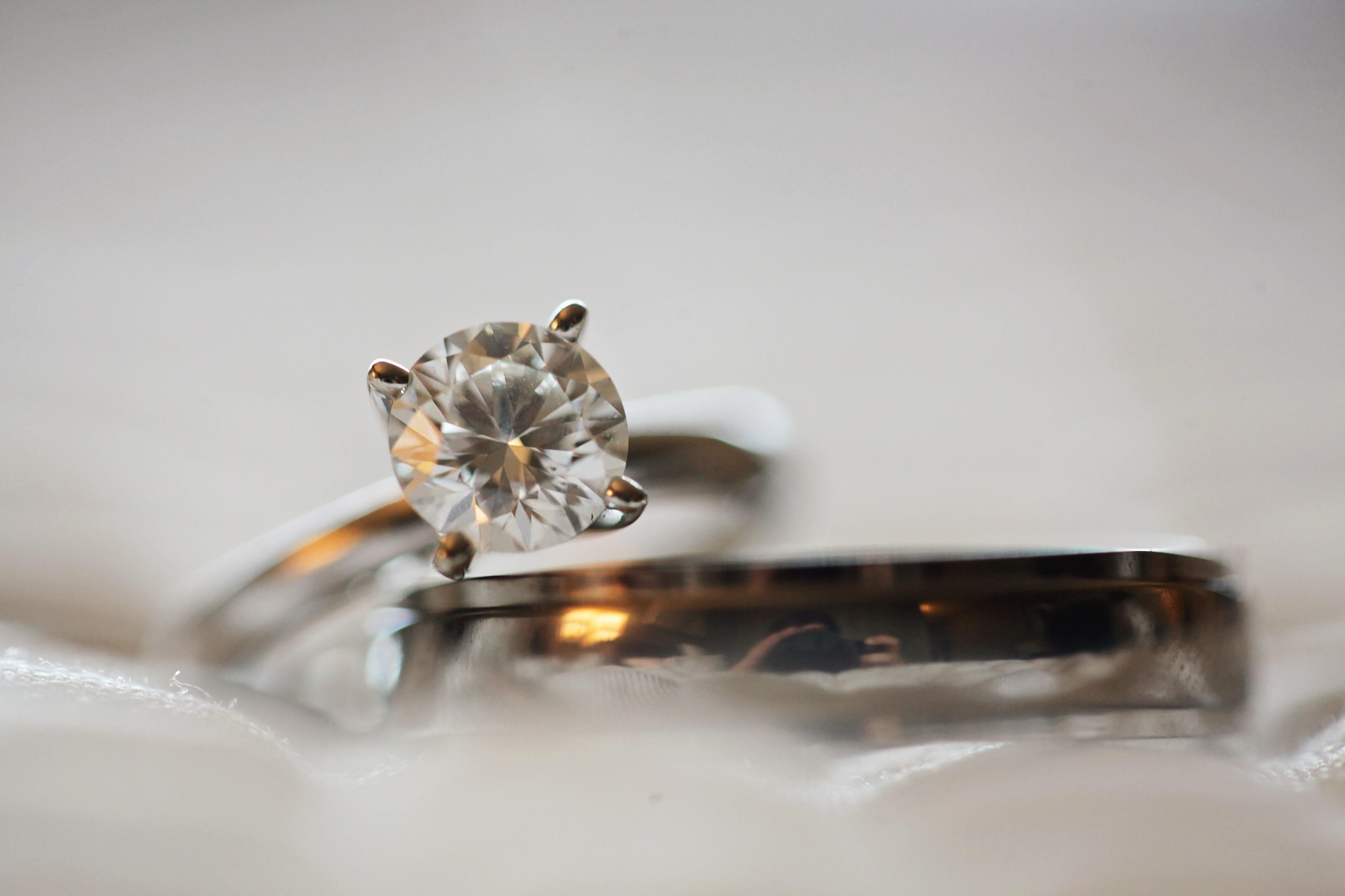 Single birthstone ring