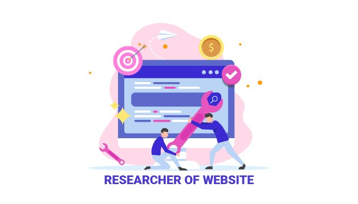 Researcher of Website