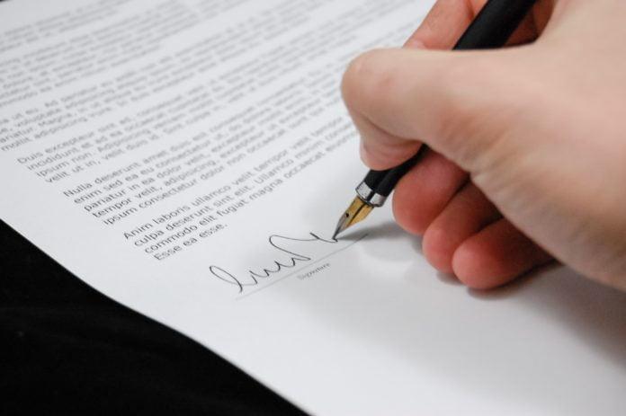 Important Legal Document