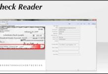 Check Reader Software