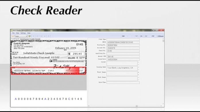 Check Reader Software