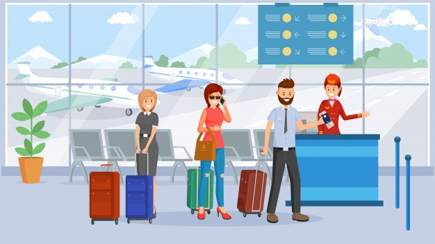 passengers airport