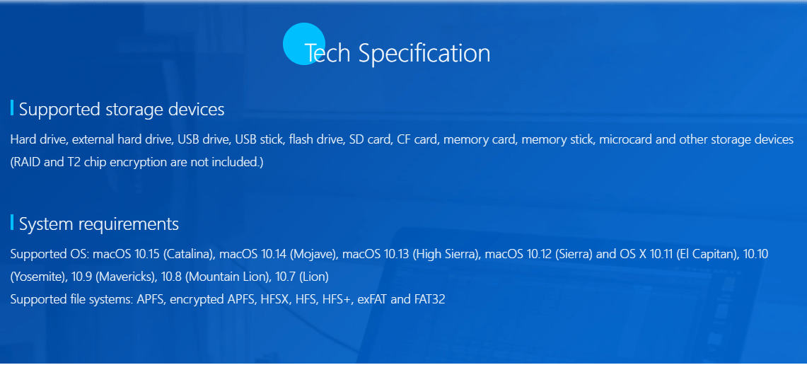 tech specification