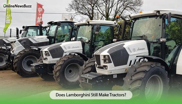 Does Lamborghini Still Make Tractors?