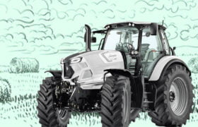 which entrepreneur made tractors before entering the sports car business?
