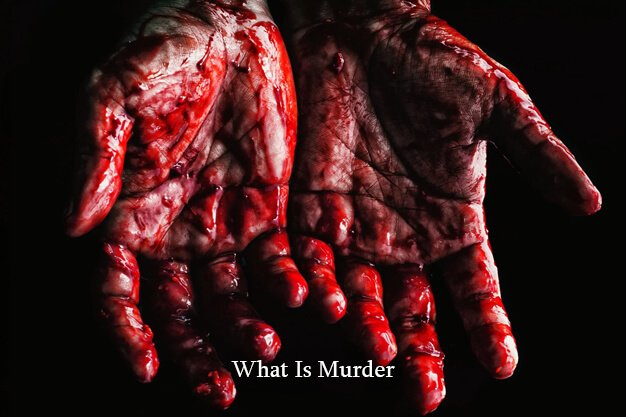 What Is Murder