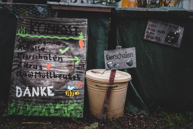 Begin composting